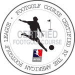Certified FootGolf Course badge